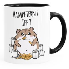 Spruch-Tasse Virus 2020 Hamsterkäufe Nudeln Klopapier Apokalypse lustige Kaffeebecher MoonWorks®