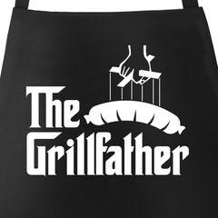 The Grillfather Grill-Schürze für Männer und Paten am Grill Moonworks®