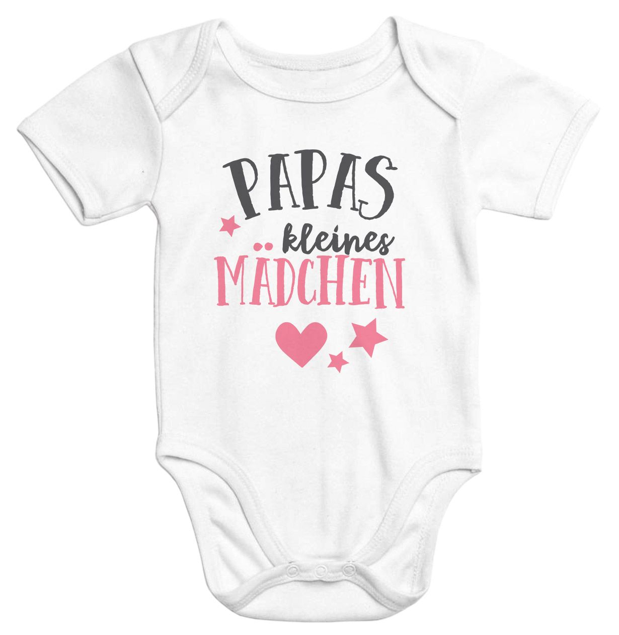 MoonWorks/® Baby Langarmshirt Babyshirt Papas kleines M/ädchen Bio-Baumwolle Shirt