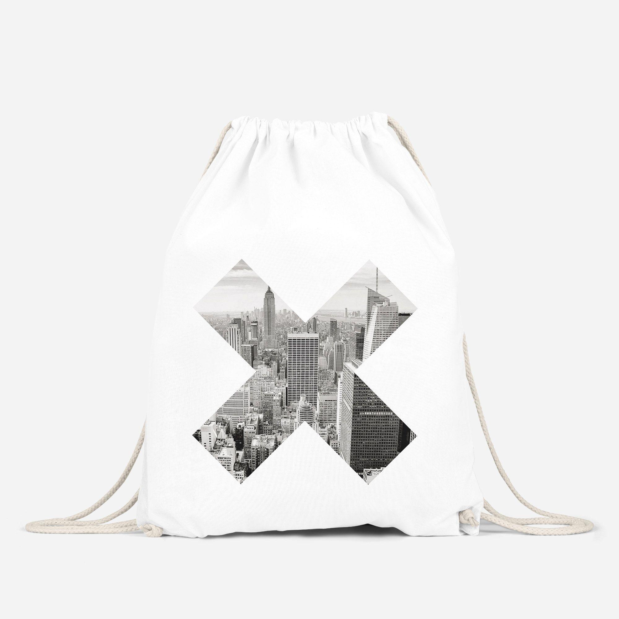 cooler Turnbeutel x Aufdruck Foto Druck Hipster Beutel Tasche Gym Bag