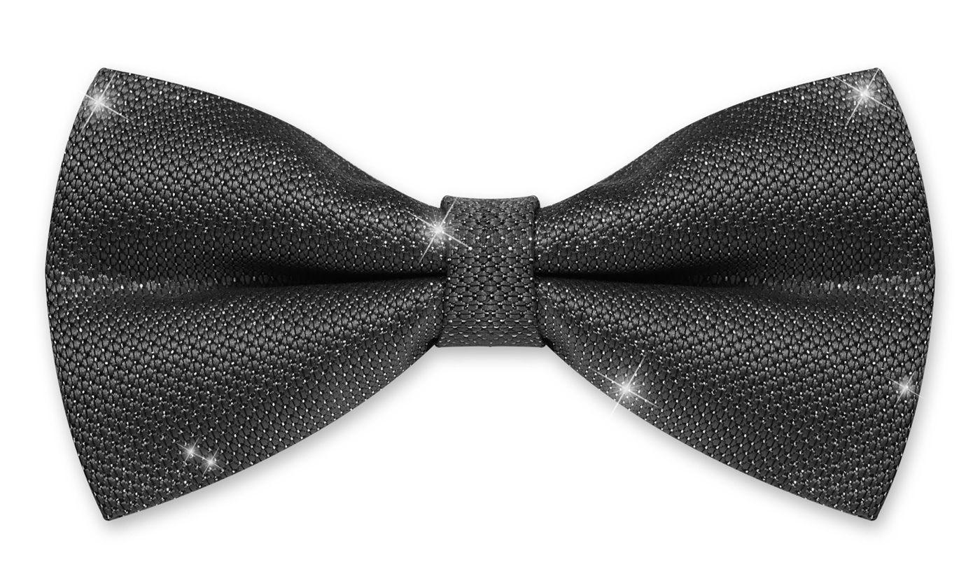 Fliege Herren Hochzeit Konfirmation Anzug Smoking Schleife Schlips Glitzer Glitter