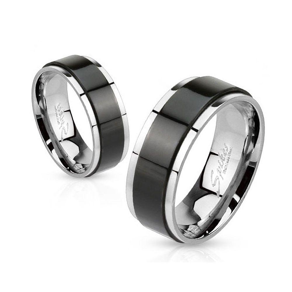 herren damen edelstahl ring drehring spinner spinning. Black Bedroom Furniture Sets. Home Design Ideas
