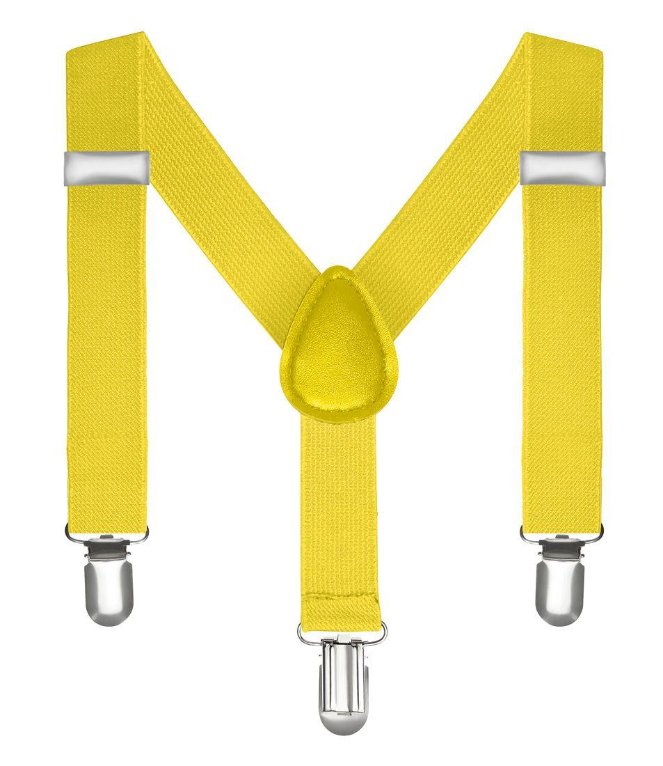 Kinderhosenträger Kinder Hosen Träger Stretch Y Form Style Clips Schmal Neon Bunt Farbig