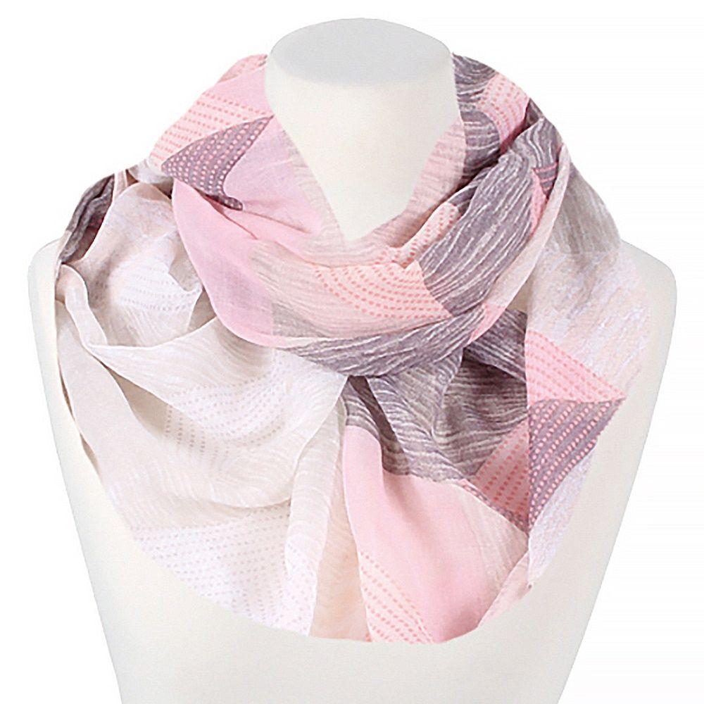 loop schal schlauchschal damen sommer d nn infinity scarf. Black Bedroom Furniture Sets. Home Design Ideas