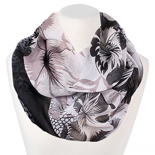 loop schal schlauchschal kariert damen sommer d nn karo infinity scarf xxl ebay. Black Bedroom Furniture Sets. Home Design Ideas