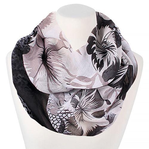 loop schal schlauchschal kariert damen sommer d nn karo infinity scarf xxl ebay. Black Bedroom Furniture Sets. Home Design Ideas